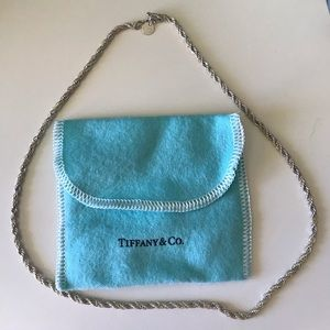 Authentic Tiffany & Co Rope Gold / Sterling Silver
